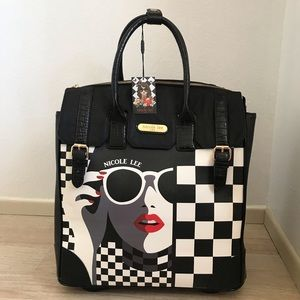 Nicole Lee Bags - Rolling Business Tote